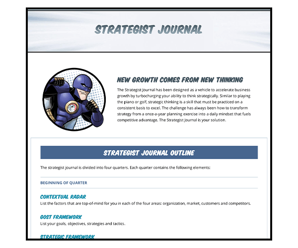 Strategist Journal