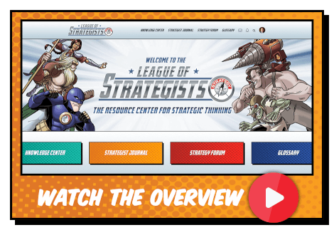 League of Strategists video overview button