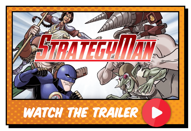 StrategyMan video trailer button