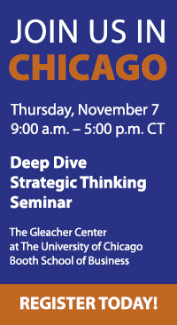 Strategic Thinking Seminar November 7th